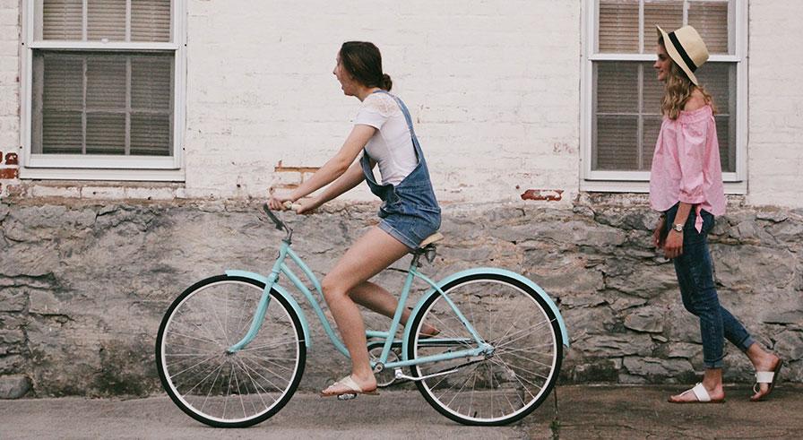 Damcykel istället för motionscykel